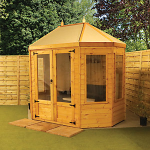Mercia 8 x 6 ft Octagonal Summerhouse