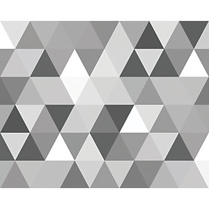 ohpopsi Triangular Geometric Pattern Wall Mural