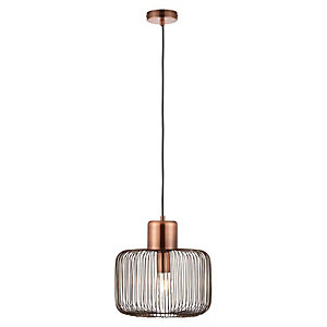 Nicola Pendant Light Antique Copper