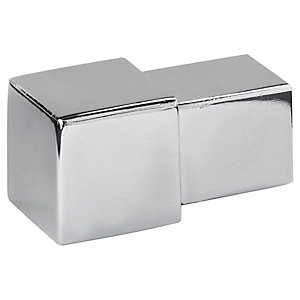Homelux 9mm Square Silver Corners