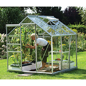 Vitavia Venus 6 x 6 ft Toughened Glass Greenhouse