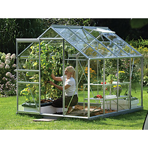 Vitavia Venus 8 x 6 ft Toughened Glass Greenhouse