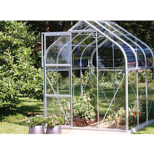 Vitavia Orion 6 x 6 ft Toughened Glass Greenhouse