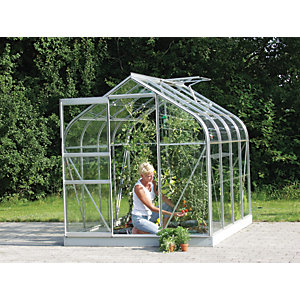 Vitavia Orion 6 x 8 ft Horticultural Glass Greenhouse