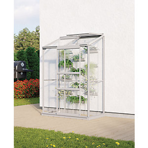 Vitavia Ida 2 x 4 ft Toughened Glass Greenhouse