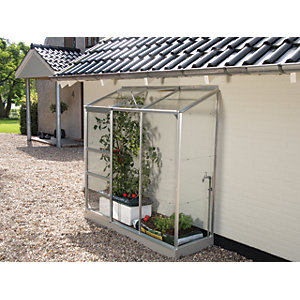 Vitavia Ida 2 x 6 ft Toughened Glass Greenhouse