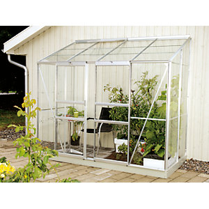 Vitavia Ida 8 x 4 ft Toughened Glass Greenhouse