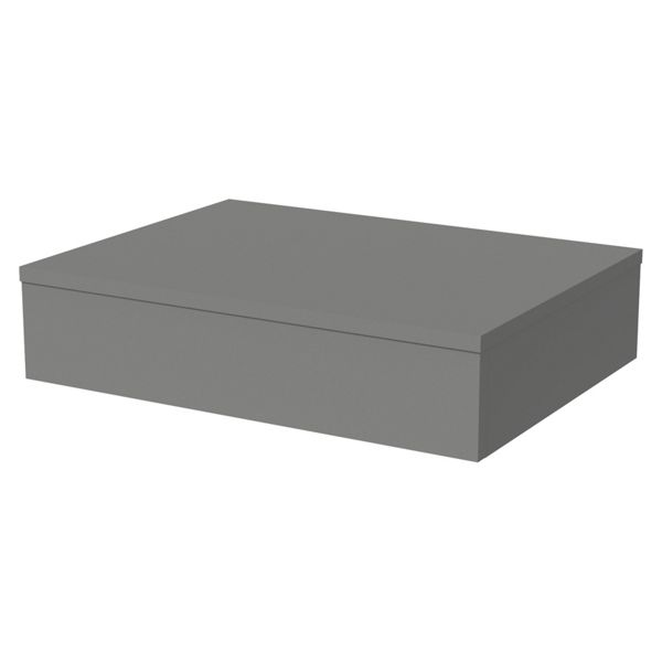 Wickes Lisbon Dust Grey Floating Shelf - 600 x 400mm