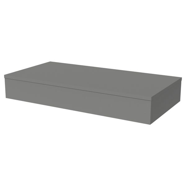 Wickes Lisbon Dust Grey Floating Shelf - 900 x 400mm