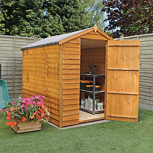 Mercia 7 x 5 ft Overlap Apex Windowless Shed