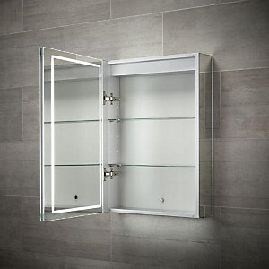 Wickes Single Door Diffused LED Mirror Cabinet