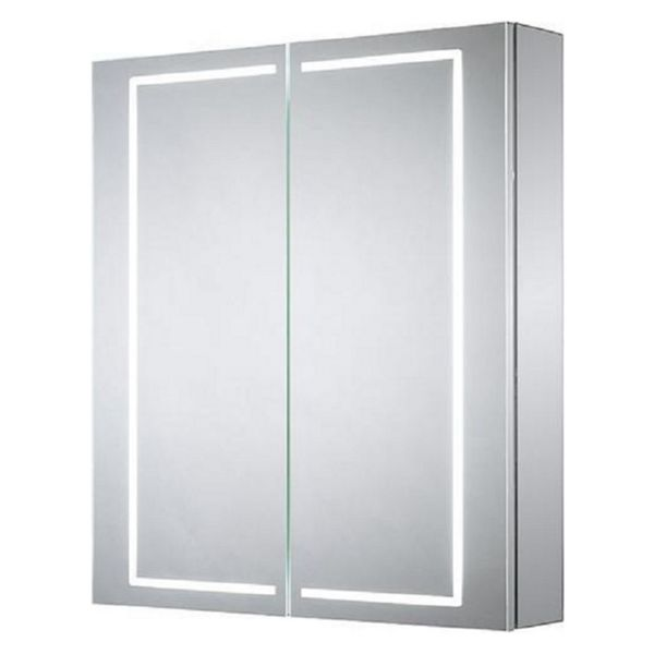 Wickes Diffused LED Double Door Bathroom Cabinet