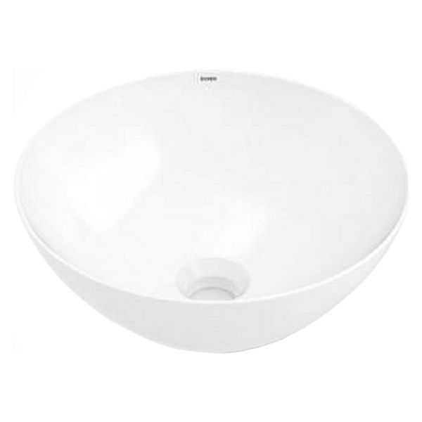 Wickes Platinum Round Bowl Countertop Bathroom Basin - 350mm