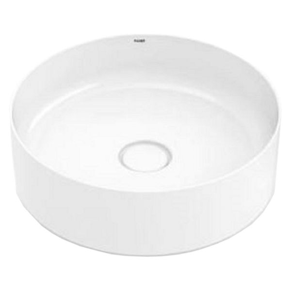 Wickes Platinum Round Countertop Bathroom Basin - 390mm