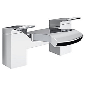 Bristan Descent Bath Mixer Tap - Chrome