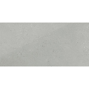 Wickes Rockford Grey Lappato Glazed Porcelain Wall & Floor Tile 595 x 295mm Sample