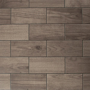 Image of Contour Brown Wood Effect Decorative 10m