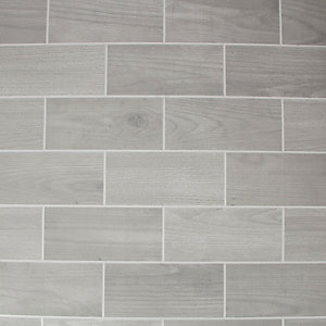 Contour Grey Wood Effect Wallpaper 10m