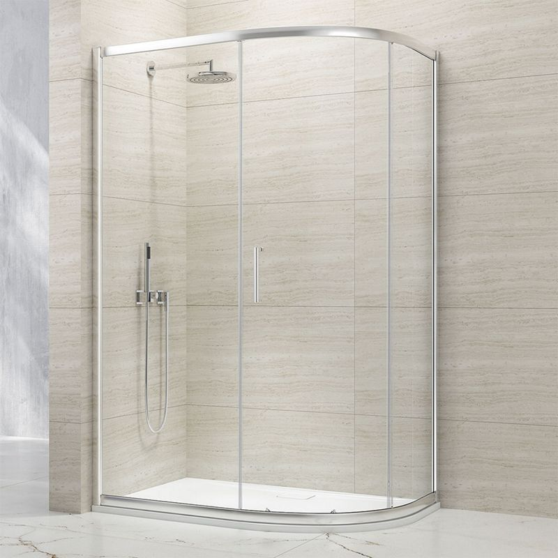 8mm Offset 1 Door Sliding Shower Enclosure
