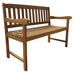 Charles Bentley FSC Acacia 2-3 Seater Wooden Bench