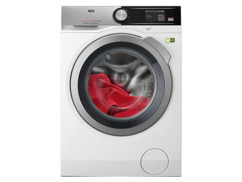 AEG Connected Freestanding SoftWater Washing Machine L9FEA966C