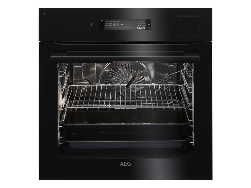AEG Single Oven SteamPro Connected BSK798380B