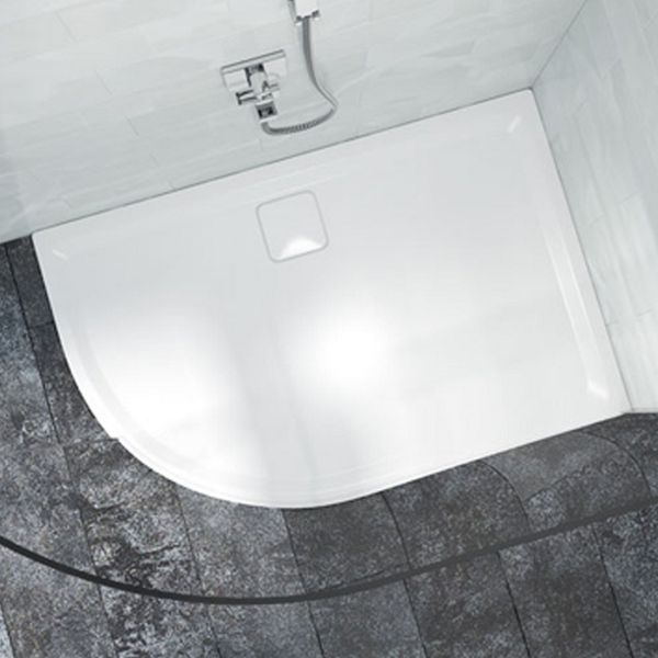 Quadrant Low Level Left Hand White Shower Tray