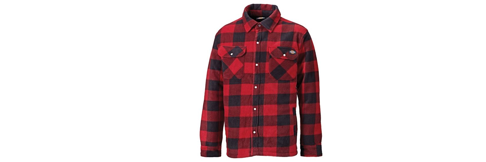 New! Dickies Portland Checked Padded Shirt