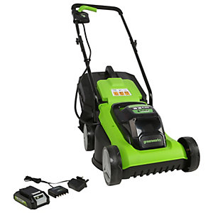 24V 32cm Lawnmower with 2ah Battery and 2Ah Charger