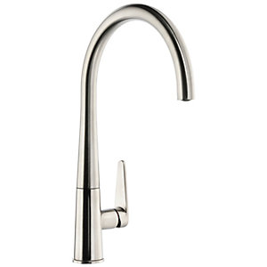 Image of Abode Coniq R Single Lever Kitchen Tap Brushed Nickel
