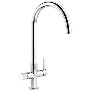 Abode Puria Filter Kitchen Tap Chrome
