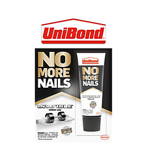 Image of Unibond No More Nails Mini Tube Invisible 41g