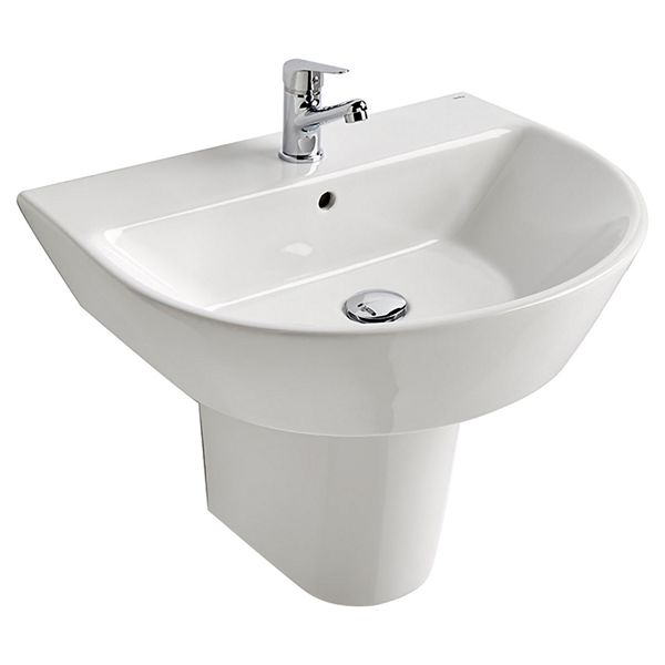 Wickes Meleti Easy Clean Close Coupled Fully Shrouded Toilet Pan, Cistern & Soft Close Slim Seat