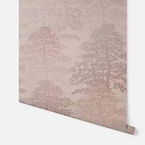 Arthouse Oasis Wood Blush Wallpaper 10.05m x 53cm