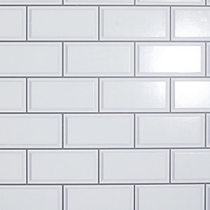 Arthouse 3D Metro Brick White Wallpaper 10.05m x 53cm