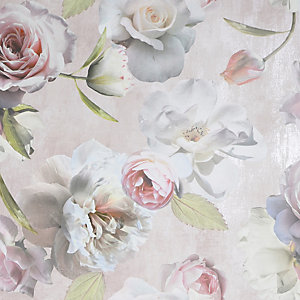 Arthouse Chelsea Garden Blush Wallpaper 10.05m x 53cm