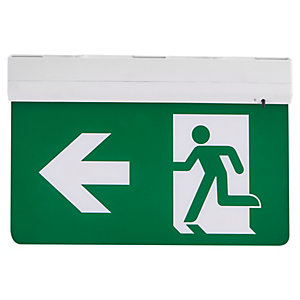 Ambient Lighting 5 In 1 LED Exit Sign Excluding Legend