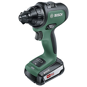 Bosch Cordless Drill AdvancedDrill 18 (1 x Battery, 18 V System, In a Carrying Case)