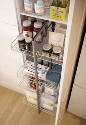 Wickes Larder Pull Out 3 4 Height