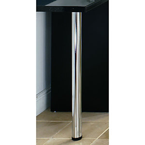Wickes Worktop Support Leg – Chrome 870mm