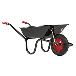 Image of Chillington Camden Classic Black Wheelbarrow - 85L
