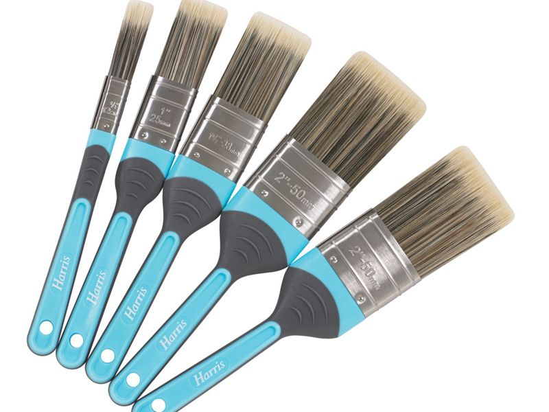Harris Inspire Paint Brushes 5 Pack
