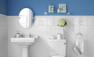 Wickes Bumpy White Ceramic Tile 200 x 200mm | Wickes.co.uk