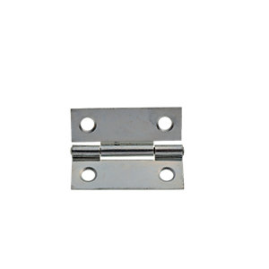 Image of Wickes Butt Hinge - Zinc Plated 51mm Pack of 20