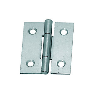 Wickes Butt Hinge - Steel 38mm Pack of 2