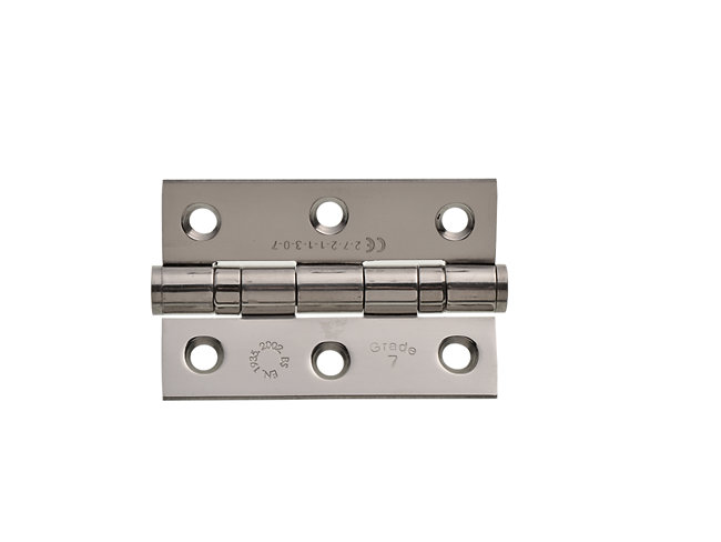 Grade 7 Fire Rated Ball Bearing 75mm Hinge - Pack Of 2