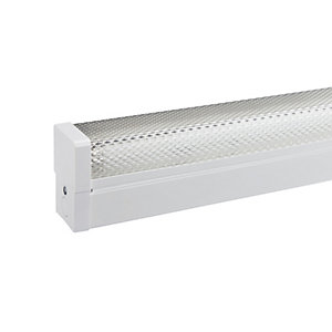 Image of Sylvania 5ft Fluorescent Fitting with Tube & Diffuser - 58W G13