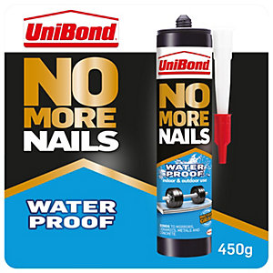 Image of Unibond No More Nails Waterproof Cartridge - 450g
