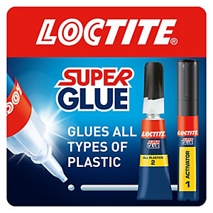 Loctite Super Glue All Plastics 2g + 4ml