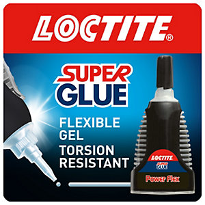 Loctite Super Glue Power Flex Gel Control 3g